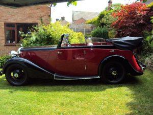 1936 Daimler Coupe