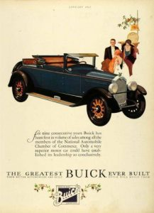 Buick Roadster 1924